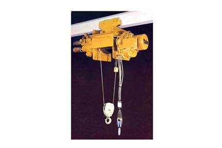 5 Ton Yale Cable King Air Wire Rope Hoists Double Reeved On ...