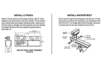 Drawing 14 Gauge C-Track Installation