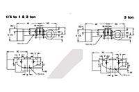 budgit motor driven trolley on american crane equipment corp drawing budgit motor driven trolley