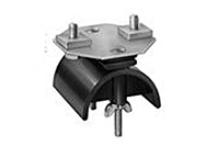 Product Image End Clamp and Saddle Assembly, 14 Gauge C-Track