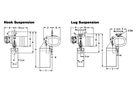 Drawing Yale KALC Air Hoist Drawing