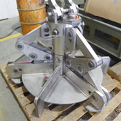 Product Image Mechanical actuated stainless steel grapple