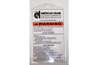 Product Image Warning Label