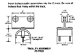Drawing Intermediate Trolley-Saddle Assemblies, 12 Gauge C-Track_Installation