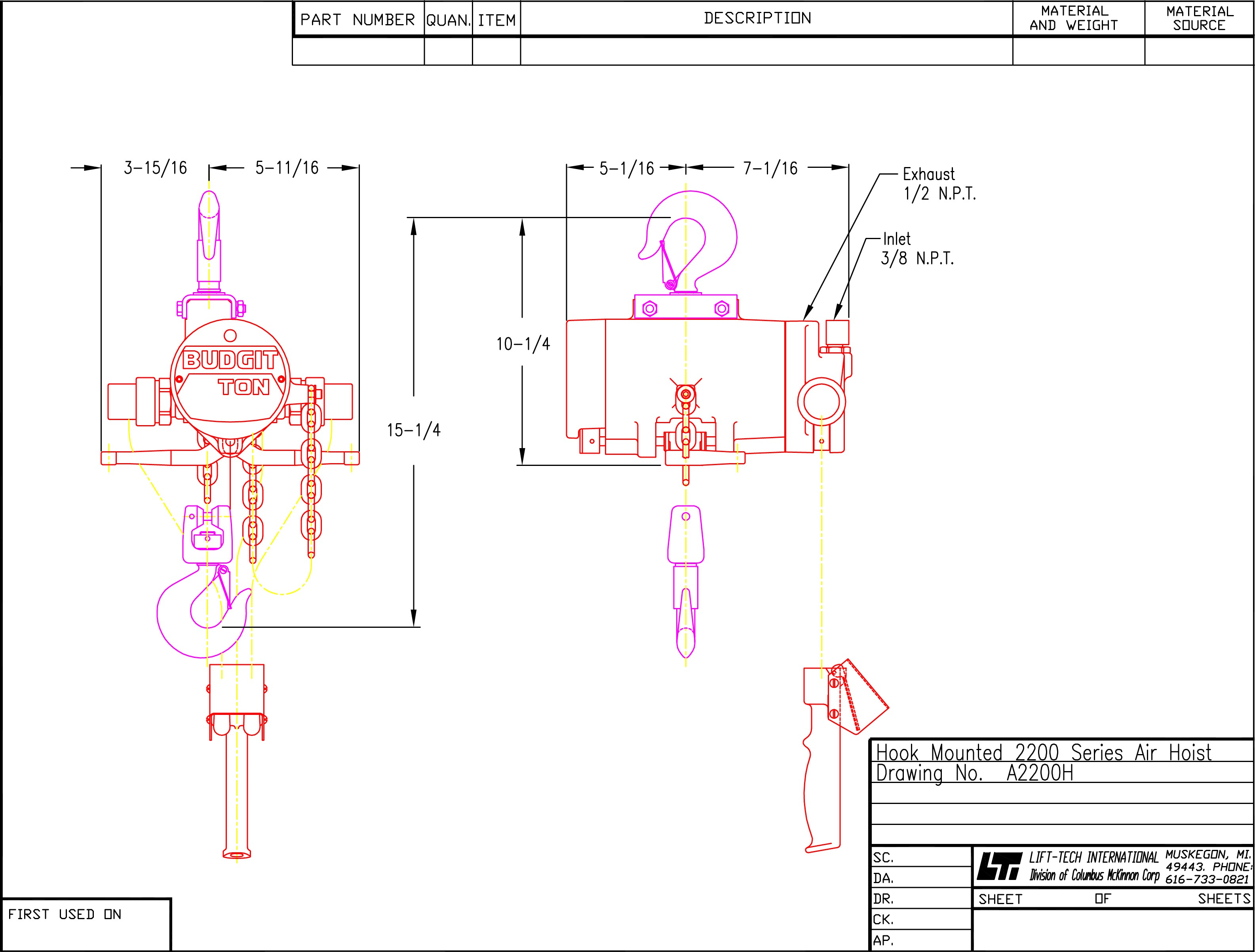 old budgit hoist wiring diagram 31 wiring diagram images