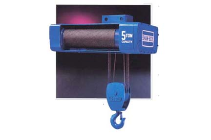 2 Ton Shaw-Box 800 Series Electric Monorail Wire Rope Hoists