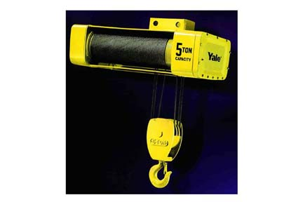 5 Ton Yale Y80 Series Electric Monorail Wire Rope Hoists On ...