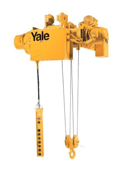 1 Ton Yale Cable King Electric Wire Rope Hoist Double Reeved On ...