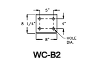 Drawing BRACKET MODEL WC-B2