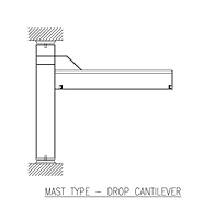 Icon ACECO_Mast_Type_Drop_Cantilever