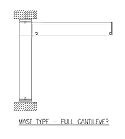 Icon ACECO_Mast_Type_Full_Cantilever