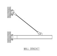Drawing CECO_Wall_Bracket_Jib_Crane