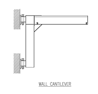 Drawing ACECO_Wall_Cantilever_Jib_Crane