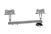 Product Image Control Trolley Assemblies for Push Button Station, 12 Gauge C-Track