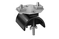 Product Image End Clamp and Saddle Assembly, 12 Gauge C-Track