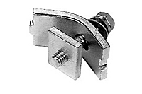 Product Image Mounting Clamp for Cross Arm Bracket, 12 Gauge C-Track