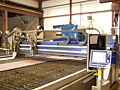 Capabilities State of the art plasma and oxy fuel cutiing machine featuring 10' x 42' cutting table