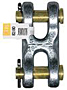 Product Image CM Carbon Chain Attachments\CM_ Double_ Clevis_ (Mid-Link)